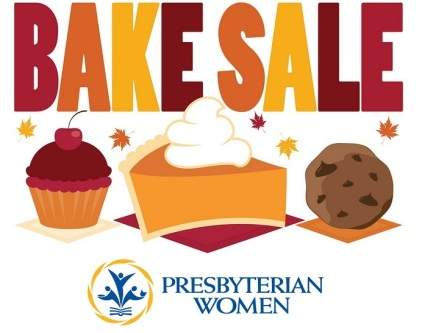 bake sale goods