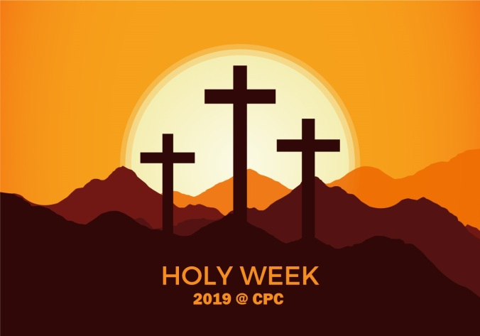 free-holy-week-vector-background